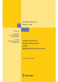 Obálka knihy  Continuous Martingales and Brownian Motion od Yor Marc, ISBN:  9783540643258