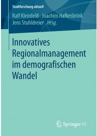 Obálka knihy  Innovatives Regionalmanagement im demografischen Wandel od , ISBN:  9783658149567