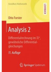 Obálka knihy  Analysis 2 od Forster Otto, ISBN:  9783658194109