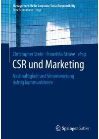 Obálka knihy  CSR und Marketing od , ISBN:  9783662458129