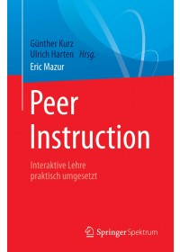 Obálka knihy  Peer Instruction od Mazur Eric, ISBN:  9783662543764