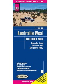Obálka knihy  Reise Know-How Landkarte Australien, West 1 : 1.800.000 od , ISBN:  9783831773275