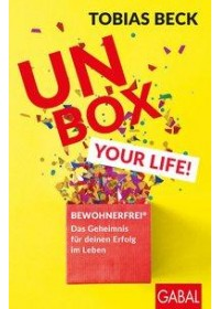 Obálka knihy  Unbox your Life! od Beck Tobias, ISBN:  9783869368696